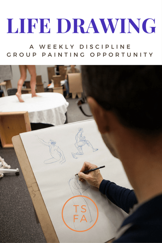 Life Drawing Weekly Class Tubac School of Fine Art