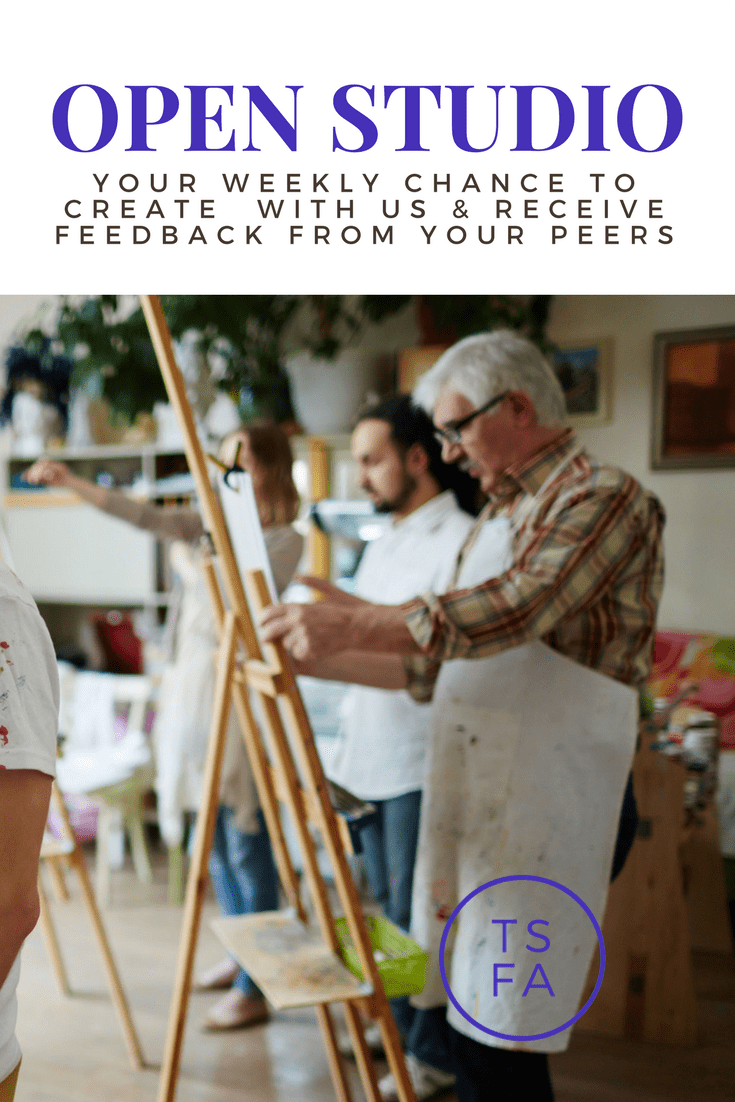 Open Studio Sessions Painting Group Benefits