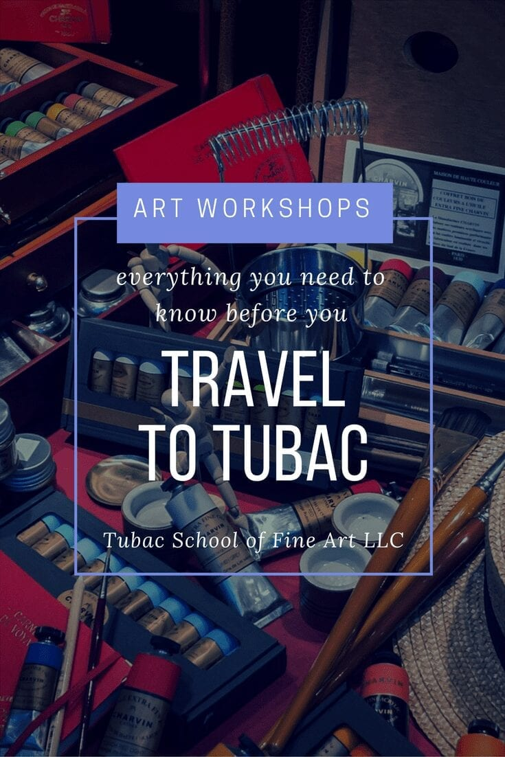 Travel to Tubac Tubac School of Fine Art LLC